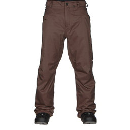 Volcom Carbon Mens Snowboard Pants, Teak, 256