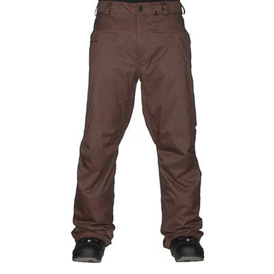 Volcom Carbon Mens Snowboard Pants, Black, viewer