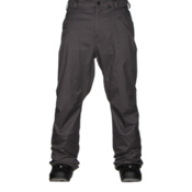 Volcom Carbon Mens Snowboard Pants, Charcoal, medium
