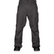 Volcom Carbon Mens Snowboard Pants, Charcoal, medium