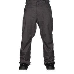 Volcom Carbon Mens Snowboard Pants, Charcoal, 256