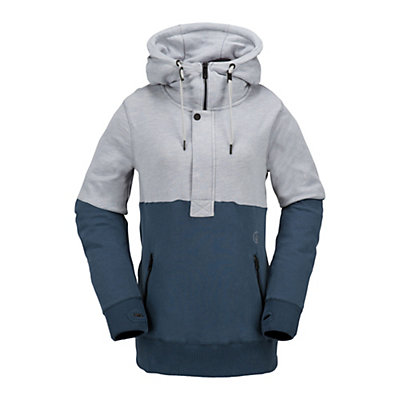 Volcom Shale Pull Over Fleece Womens Hoodie, , viewer