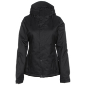 Volcom Bolt Womens Insulated Snowboard Jacket, Black, medium