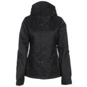 Volcom Bolt Womens Insulated Snowboard Jacket, Black, medium
