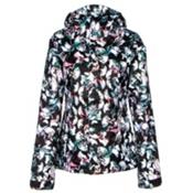 Volcom Bolt Womens Insulated Snowboard Jacket, Flutter Collage Print Multi, medium
