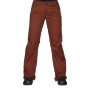 Volcom Frochickie Insulated Womens Snowboard Pants, Copper, medium