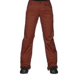Volcom Frochickie Insulated Womens Snowboard Pants, Copper, 256