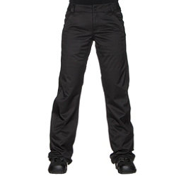 Volcom Frochickie Insulated Womens Snowboard Pants, Black, 256