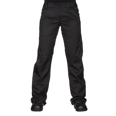 Volcom Frochickie Insulated Womens Snowboard Pants, Black, viewer
