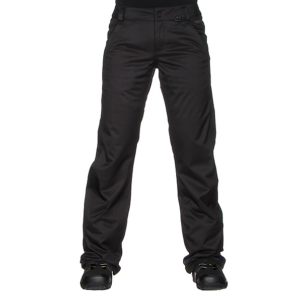 Volcom Frochickie Insulated Womens Snowboard Pants, Black, 600