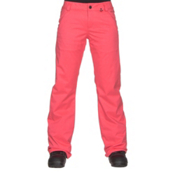 Volcom Frochickie Insulated Womens Snowboard Pants, Electric Pink, medium