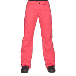 Volcom Frochickie Insulated Womens Snowboard Pants, Electric Pink, 256