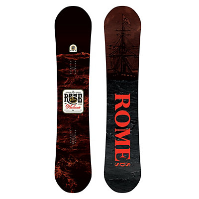 Rome Mechanic Wide Snowboard 2017, 157cm Wide, viewer