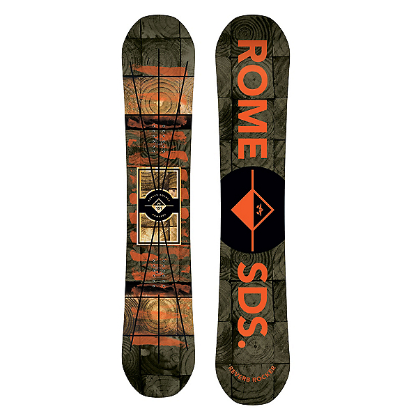 Rome Reverb Rocker Snowboard, 151cm, 600