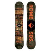 Rome Reverb Rocker Snowboard, 154cm, medium