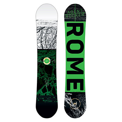 Rome Agent Rocker Snowboard 2017, 155cm, viewer