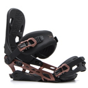 Rome 390 Boss Snowboard Bindings 2017, Copper, medium