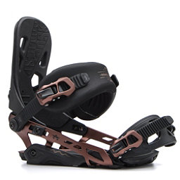 Rome 390 Boss Snowboard Bindings 2017, Copper, 256
