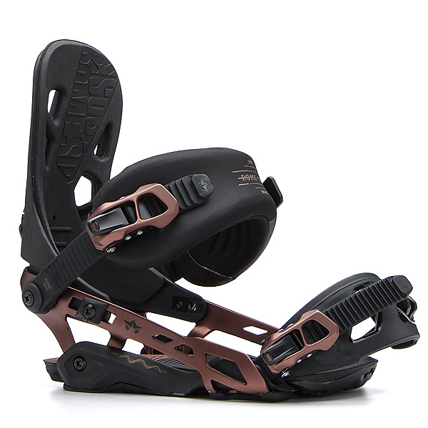 Rome 390 Boss Snowboard Bindings 2017, Copper, 600