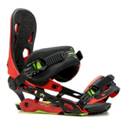 Rome 390 Boss Snowboard Bindings 2017, Red, medium