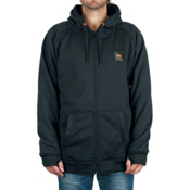 Rome MT After Burner Full Zip Mens Hoodie, Black, medium