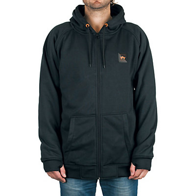 Rome MT After Burner Full Zip Hoodie, Black, viewer