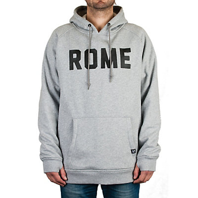 Rome Riding Pullover Hoodie, Heather Grey, viewer