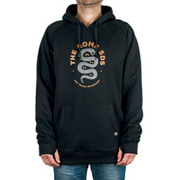 Rome Riding Pullover Mens Hoodie, Black, 256