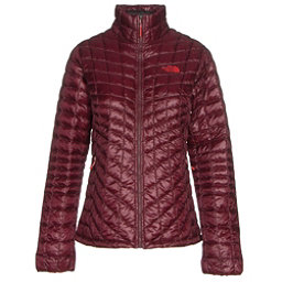 The North Face ThermoBall Full Zip Womens Jacket, Deep Garnet Red, 256