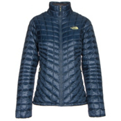 The North Face ThermoBall Full Zip Womens Jacket, Shady Blue, medium