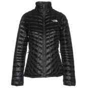 The North Face ThermoBall Full Zip Womens Jacket, TNF Black, medium