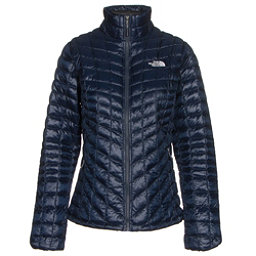 The North Face ThermoBall Full Zip Womens Jacket, Cosmic Blue-Arctic Ice Blue, 256
