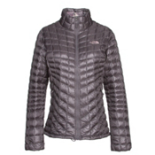 The North Face ThermoBall Full Zip Womens Jacket, Rabbit Grey-Rabbit Grey Swashe, medium