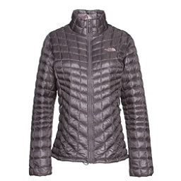 The North Face ThermoBall Full Zip Womens Jacket (Previous Season), Rabbit Grey-Rabbit Grey Swashe, 256
