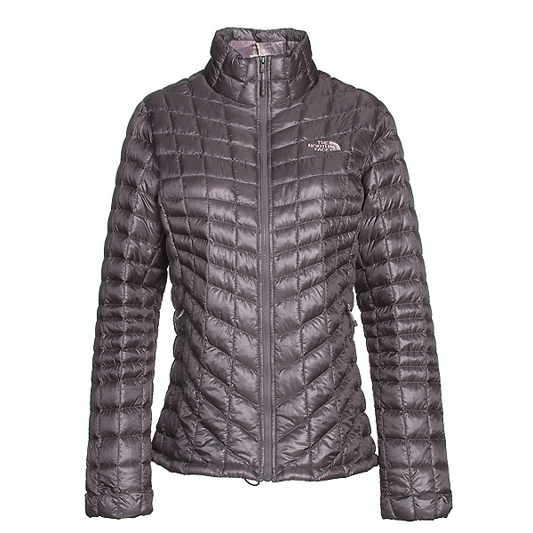 The North Face ThermoBall Full Zip Womens Jacket, Rabbit Grey-Rabbit Grey Swashe, 600