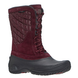 The North Face ThermoBall Utility Mid Womens Boots, Deep Garnet Red-Calypso Coral, 256