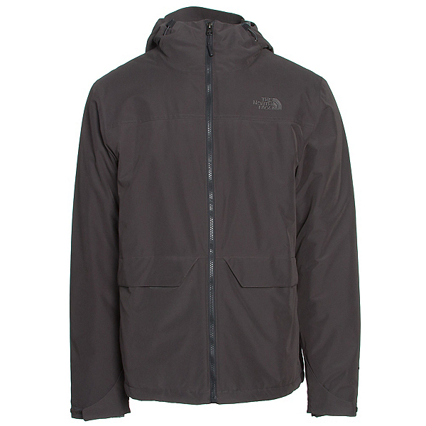 The North Face Canyonlands Triclimate Mens Insulated Ski Jacket, Asphalt Grey, 600