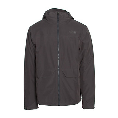 The North Face Canyonlands Triclimate Mens Insulated Ski Jacket, Asphalt Grey, viewer