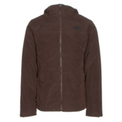 The North Face Canyonlands Triclimate Mens Insulated Ski Jacket, Coffee Bean Brown, medium