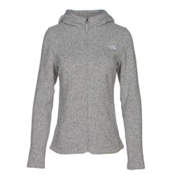 The North Face Crescent Full Zip Womens Jacket, Lunar Ice Grey Heather, medium