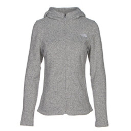 The North Face Crescent Full Zip Womens Jacket, Lunar Ice Grey Heather, 256