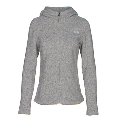 The North Face Crescent Full Zip Womens Jacket, Lunar Ice Grey Heather, viewer