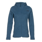 The North Face Crescent Full Zip Womens Jacket, Shady Blue Heather, medium