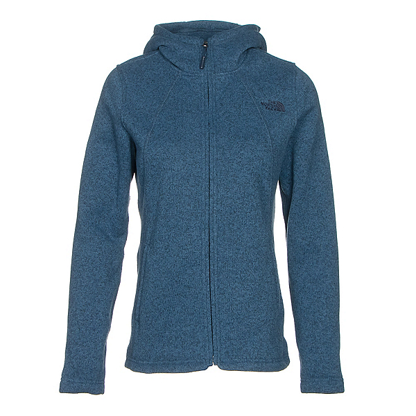 The North Face Crescent Full Zip Womens Jacket, Shady Blue Heather, 600