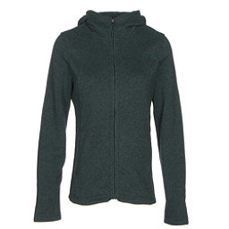 The North Face Crescent Full Zip Womens Jacket (Previous Season), Darkest Spruce Heather, 256