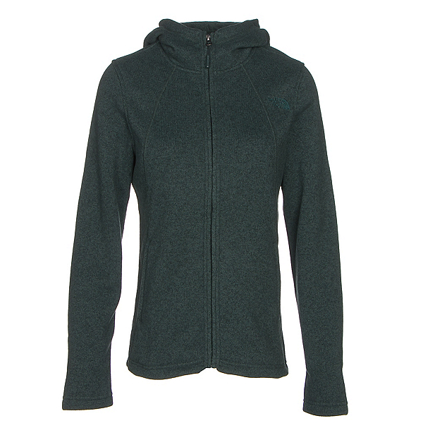 The North Face Crescent Full Zip Womens Jacket (Previous Season), Darkest Spruce Heather, 600