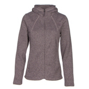 The North Face Crescent Full Zip Womens Jacket, Quail Grey Heather, medium