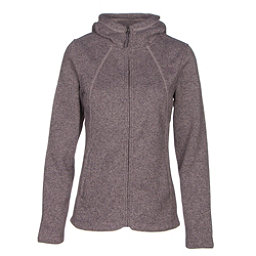 The North Face Crescent Full Zip Womens Jacket, Quail Grey Heather, 256