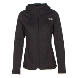 The North Face Crescent Full Zip Womens Jacket (Previous Season), TNF Black Heather, 256