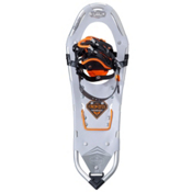Atlas Elektra Serrate Womens Snowshoes, Silver-Orange, medium